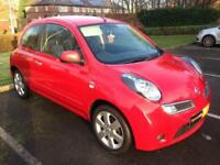 Nissan Micra 1.2 16v ( 79bhp ) n-tec - Red Low Insurance MOT