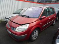 2004 53 Renault Scenic 1.5dCi 100 2004MY Dynamique ALL PARTS AVAILABLE
