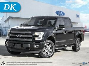 2016 Ford F-150 SWB, Lariat, 502A w/Sport Package