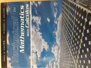 Technical Mathematics with Calculus 6e - Paul A. Calter