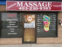 Deep Tissue & Foot Massage, Book Appointment Today!