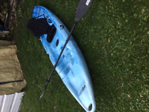 riot escape sit on top kayak