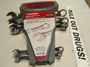 HUSKY WRENCH SET (PARTIAL)