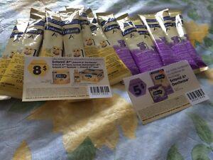Sachets de lait Enfamil + 2 coupons