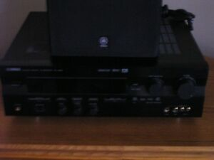 Yamaha Amp,Subwoofer and corner cabinet Kawartha Lakes Peterborough Area image 8