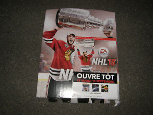 Pancarte Commercial NHL 2016 EA Sports PS3 PS4 Xbox 360 Xbox One