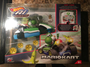 Hot Wheels Ai Mario Kart Yoshi Smart *New
