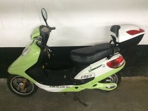 Top Ebike for sale lime green
