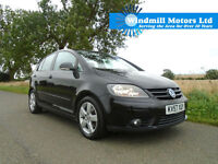 2007/57 VOLKSWAGEN GOLF PLUS 2.0 TDI SPORT DSG AUTOMATIC 5DR BLACK