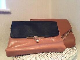 Amazing Autumn tan handbags, £4 each