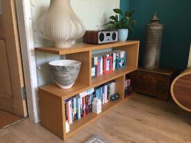 Balance by Conran bookshelves/media unit in solid oak