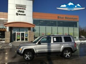 2017 Jeep Patriot   ACCIDENT FREE, SUNROOF, 4WD, GPS