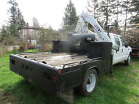 utility body with cabinets to fit Ford F450 F550