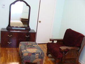 Beautiful clean room, furnished, all included.Lasalle
