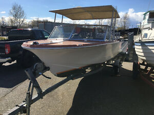 16' Double Eagle Power Boat