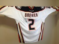 Eric Brewer Signed Jersey