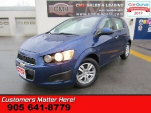 2013 Chevrolet Sonic LT  BLUETOOTH, ALLOYS, REMOTE, STEERING AUD