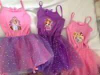 3 x princess dress up