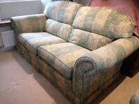 Laura Ashley 3 piece suite ( Sofa and 2 Armchairs )
