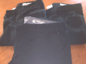 3  Men's Jeans, 36 waist, leg 36, 2 Element Brand, 1 Billabong