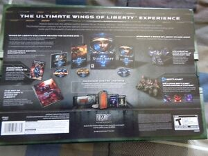 Starcraft 2:Wings of Liberty Collector Edition-Used - $40