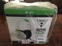 NEW - Xbox one Turtle Beach recon 50x gaming headset