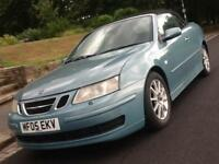 2005 SAAB 9-3 2.0 T CABRIOLET CONVERTIBLE