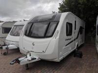 Swift Challenger SE 565 4 berth fixed single beds 2013