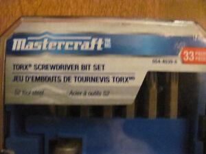 33 PIECE MASTERCRAFT TORX BIT SET Cornwall Ontario image 2