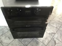 Hot point double electric oven for sale