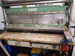 "40"" Shear, Brake, Slip Roll Combo Sheet Metal Machine"