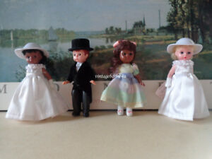 Madame Alexander Doll Lot Memories of a Lifetime Bride Wedding