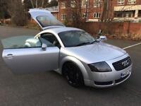 Audi TT Coupe 1.8 quattro. REMAPPED 260 BHP. CAM BELT, WATER PUMP AT 70 K.