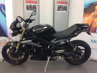 TRIUMPH STREET TRIPLE 675 ABS 1 OWNER 15 PLATE DELIVERY ARRANGED