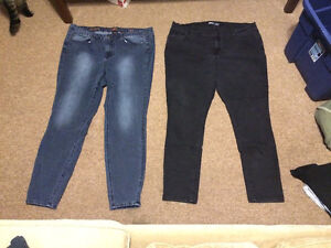 Size 18 Jeans and Size 18 Dress Pants