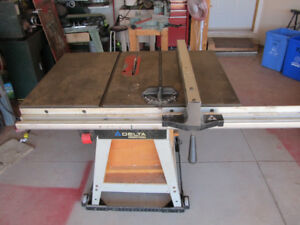 Delta Industrial Table Saw  10 inch blade