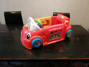 Fisher Price Learn & Crawl Car Red