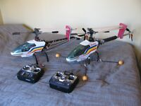 electric helicopters and spare parts.