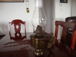 BRASS MARINE LAMP
