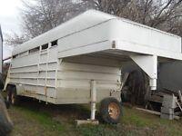 16 foot livestock trailer
