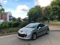 2007/57 Peugeot 207 CC 1.6 16v 120 Coupe Automatic Sport 2 Door Convertible
