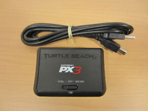 Turtle Beach Ear Force PX3 Wireless Transmitter + USB cable