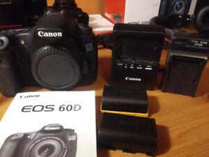Canon DSLR 60D body