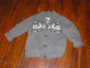 George 18-24 month Sweater, worn for pictures $4