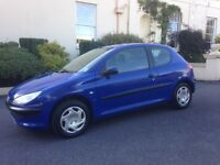 """PEUGEOT 206 AUTOMATIC 1.4cc """" ONLY 19,000 MILES """""""