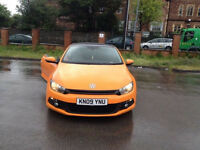 VOLKSWAGEN SCIROCCO 2.0 GT TDI !! LOOKS GREAT! TOP SPEC Cheap car very rare colour
