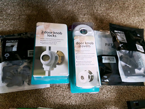 Toddler safety items all packages unopened