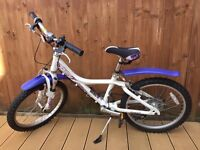 "Giant Taffy 125 girls bicycle 20"" ,mountain bike 7 gears"