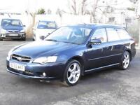 Subaru Legacy 2.0 R, Estate, Blue, 2006, FSH, 6 Months AA Warranty