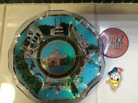 Disneyland Plate and Pins